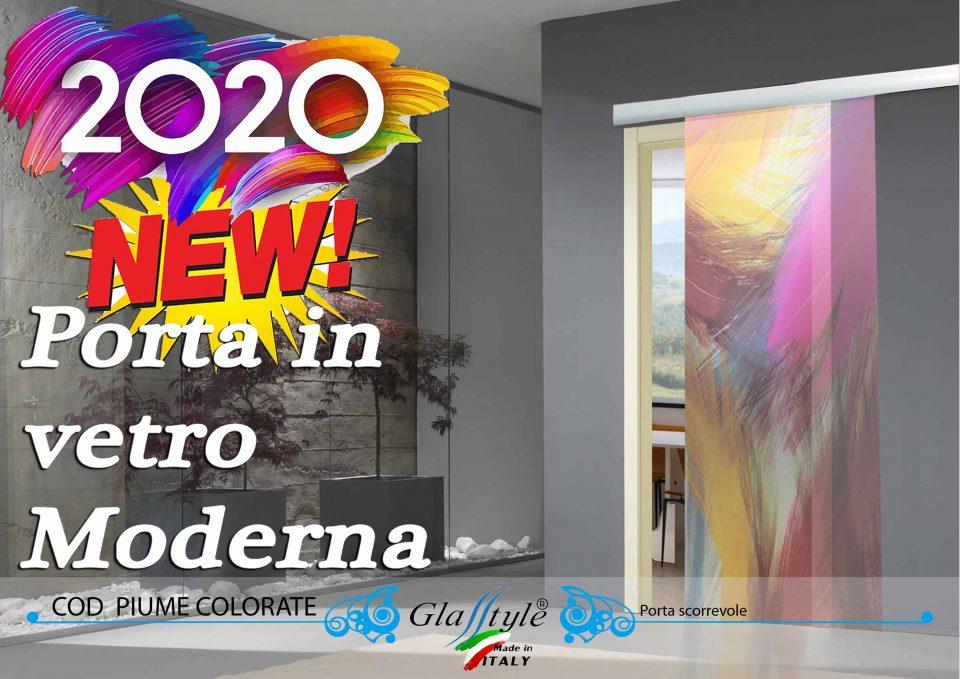 abbellisci la tua casa con una panello decorativo in vetro scorrevole