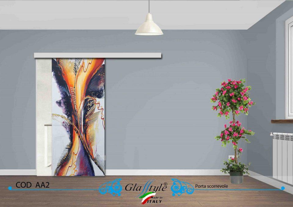 scegli pa porta in vetro che ti piace colorata classica o design